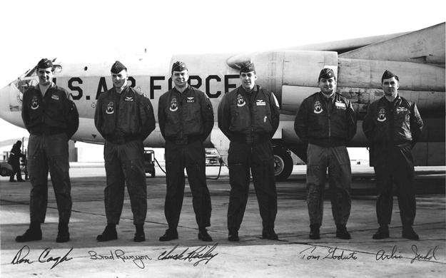 B-52 Crew Photo, Minot 1968