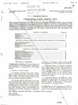 Air Force Regulation 200-2