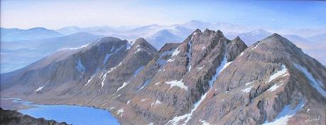 An Teallach, Wester Ross by Martin Shough