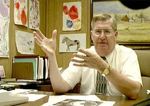 Intelligence officer Richard Clark