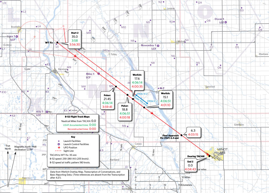 Minot AFB Case/Reference Map